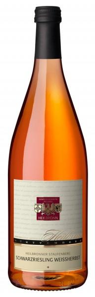 Heilbronner Staufenberg Schwarzriesling Weißherbst Qualitätswein 1l
