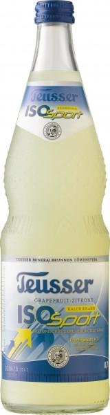 Teusser ISO Sport Grapefruit-Zitrone 12x0,7l