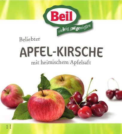 Beil Apfel-Kirsch-Fruchtsaftgetränk 6x1l