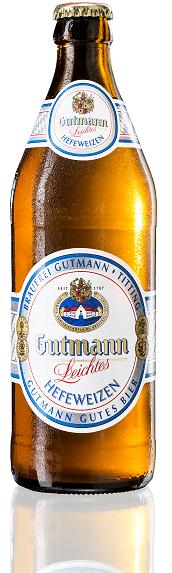 Gutmann Hefeweizen Leicht 20x0,5l