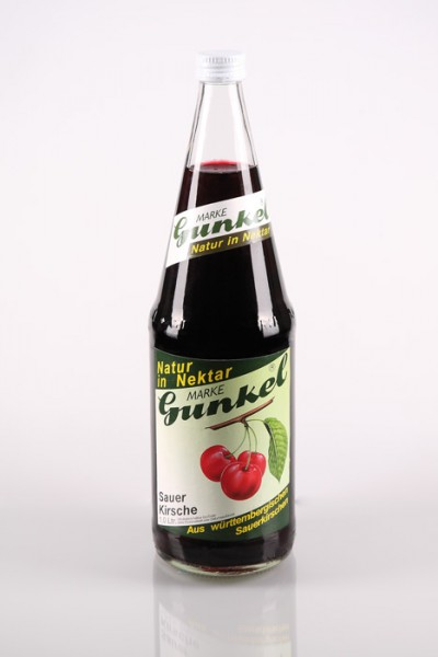 Gunkel Sauerkirsch-Nektar Fruchtgehalt mind. 60% 6x1l