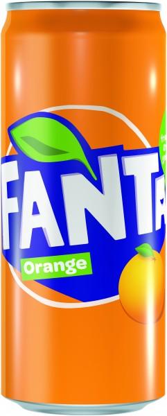 Fanta Orange 24x0,33l Dose