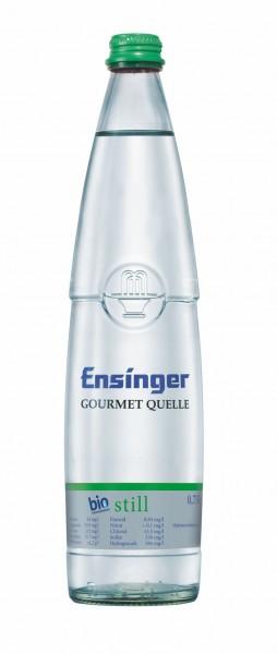 Ensinger Gourmet Bio-Mineralwasser Stille 12x0,75l