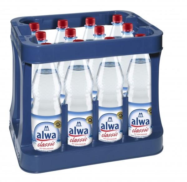Alwa Mineralwasser Classic 12x1,0l