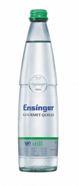 Ensinger Gourmet Bio-Mineralwasser Still 20x0,5l