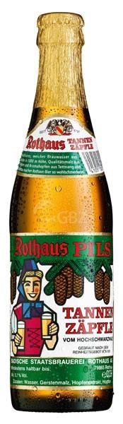 Rothaus Tannenzäpfle 24x0,33l