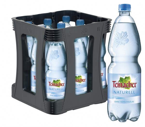 Teinacher Naturell 9x1,0l Pet