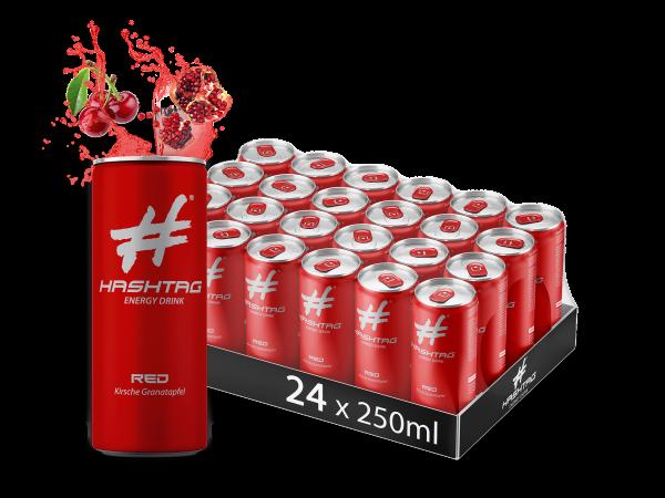 HASHTAG RED 24x0,25l