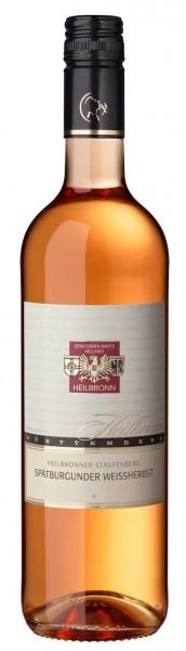 Heilbronner Staufenberg Spätburgunder Weißherbst Qualitätswein 0,75l