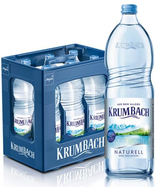Krumbacher Naturell 6x1,0 Glas