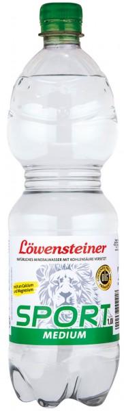 Löwensteiner SPORT Medium 9x1,0l PET