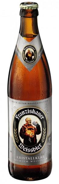 Franziskaner Weissbier Kristallklar 20x0,5l
