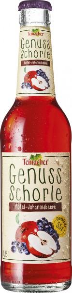Teinacher Genuss-Schorle Apfel-Johannisbeere 12x0,33l
