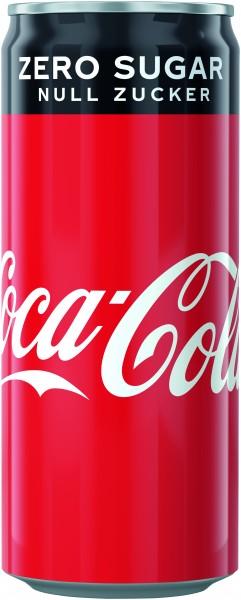 Coca Cola Zero 24x0,33 Dose