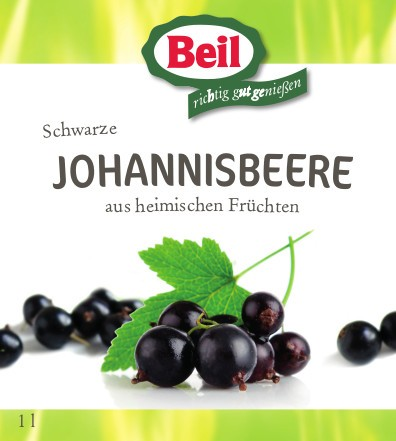 Beil Schwarzer Johannisbeer-Nektar 6x1l