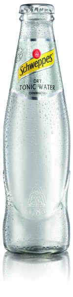Schweppes Dry Tonic Water 24x0,2l