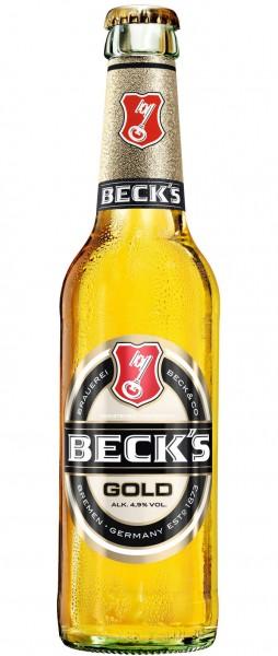 Becks Gold 24x0,33l