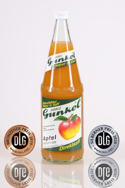 Gunkel Apfelsaft-Direktsaft naturtrüb nicht aus Konzentrat 6x1l