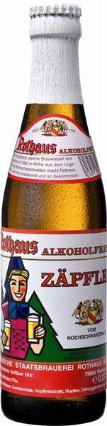 Rothaus Tannenzäpfle Alkoholfrei 24x0,33l