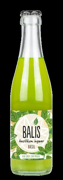 BALIS Basil Basilikum Ingwer Limonade 24x0,25l