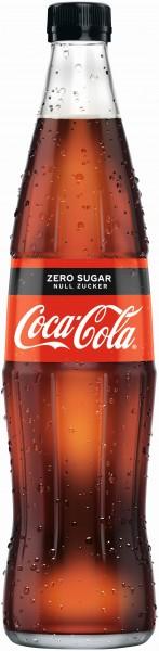 Coca Cola Zero 20x0,5l GLAS