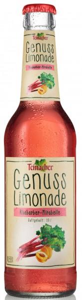 Teinacher Genuss-Limonade Rhabarber-Mirabelle 12x0,33l