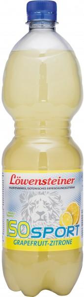 Löwensteiner ISO SPORT Grapefruit-Zitrone 9x1,0 PET