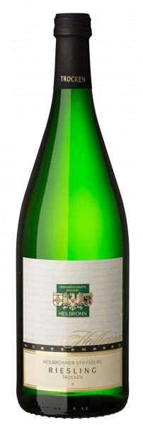 Heilbronner Stiftsberg Riesling trocken Qualitätswein 1liter