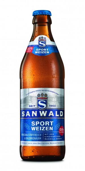 Sanwald Sport Weizen 0,0% 20x0,5l