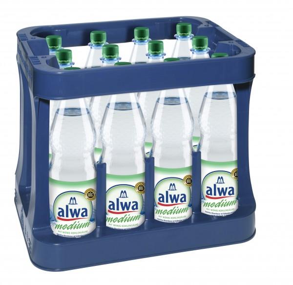 Alwa Mineralwasser Med. 12x1,0l