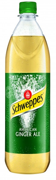 Schweppes American Ginger Ale 6x1l