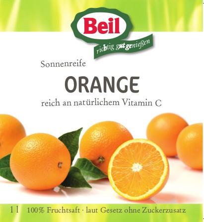 Beil Orangensaft 12x0,2l