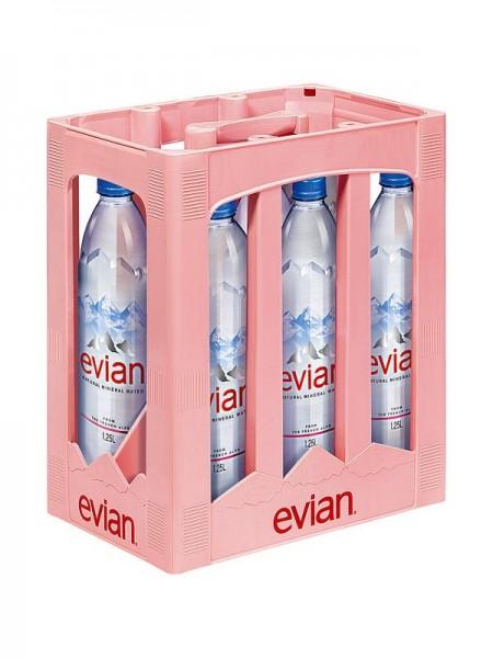 Evian Prem. Mineralwasser 6x1,5l PET