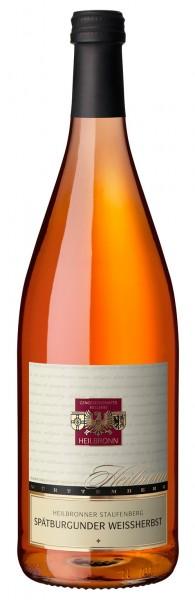 Heilbronner Staufenberg Spätburgunder Weißherbst Qualitätswein 1l