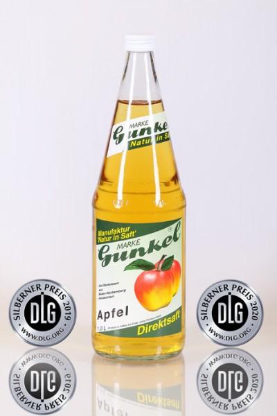 Gunkel Apfelsaft-Direktsaft nicht aus Konzentrat 6x1l