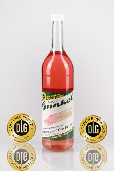 Gunkel Rhabarber Nektar Fruchtgehalt 50% 6x0,7l