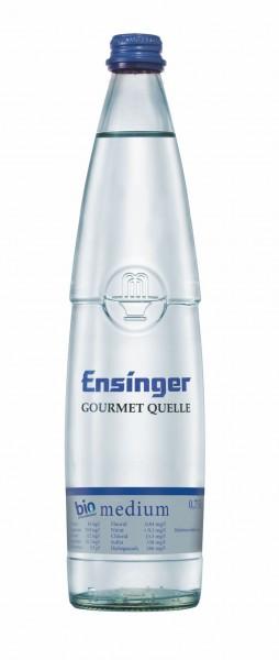 Ensinger Gourmet Bio-Mineralwasser Medium 12x0,75l