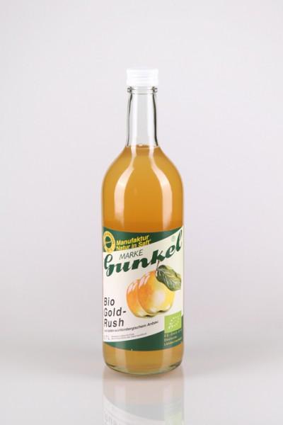 Gunkel Bio Apfelsaft naturtrüb-GOLD-RUSH Direktsaft 6x0,7l