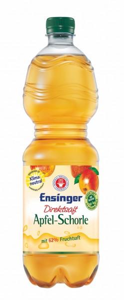 Ensinger Direktsaft Apfelschorle 9x1,0l PET