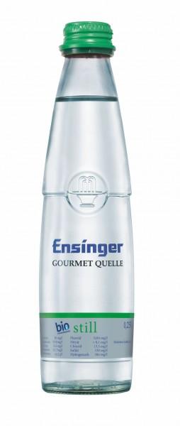 Ensinger Gourmet Bio-Mineralwasser Still 24x0,25l