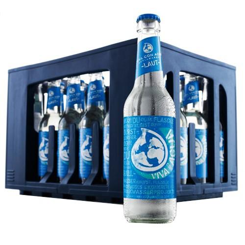 "Viva con Agua ""Laut"" – Quellwasser mit Kohlensäure 24x0,33l"