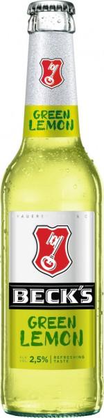 Becks Green Lemon 24x0,33l