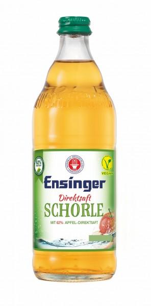 Ensinger Direktsaft Apfelschorle 12x0,5l Glas