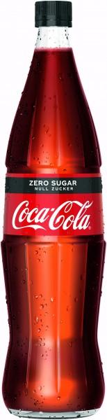 Coca Cola Zero Glas 6x1,0 NEU