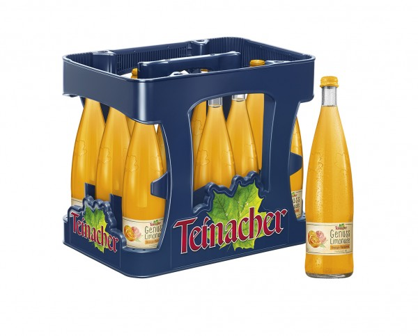 Teinacher Genuss-Limonade Orange-Mandarine 12x0,75l