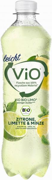 ViO Bio Limo leicht - Zitrone-Limette-Minze 18x0,5l PET