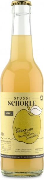 Stuggi Schorle Apfel 24x0,33l