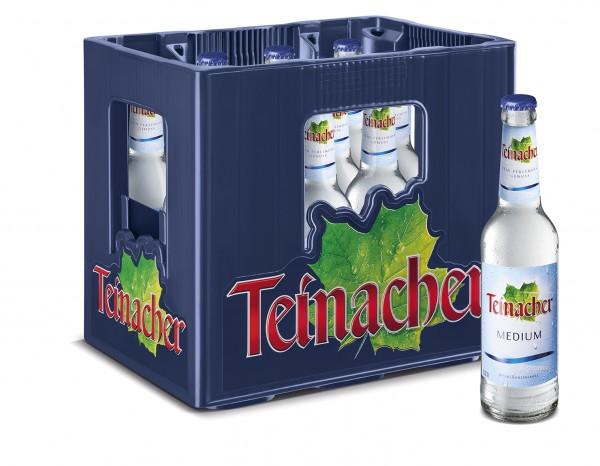 Teinacher Genuss Mineralwasser Medium 12x0,33l
