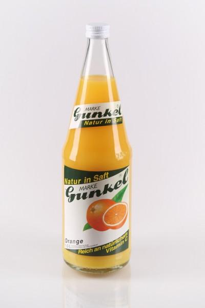 Gunkel Orangensaft aus Orangensaftkonzentrat 6x1l