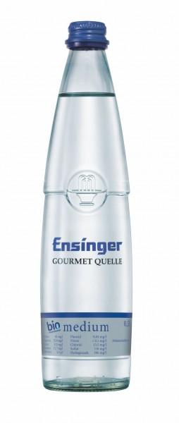 Ensinger Gourmet Bio-Mineralwasser Medium 20x0,5l